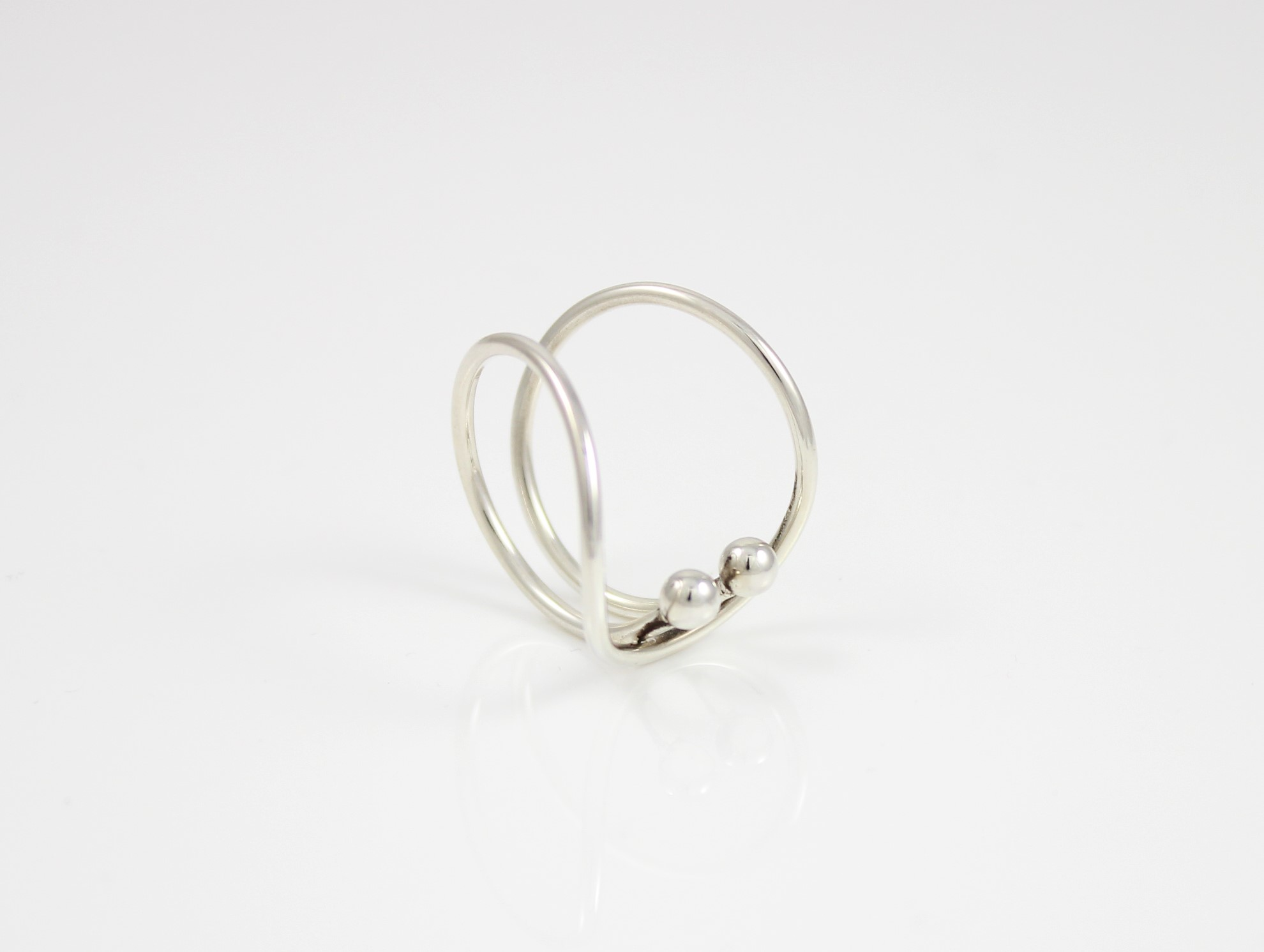 infinity real silver jewellery diamond sterling ring